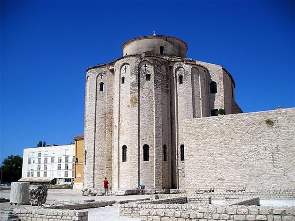Zadar, Church of Saint Donat