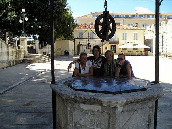Zadar, Five Wells Square